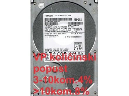 HDD 3.5` ** 2TB HCS5C2020ALA632 Hitachi 5900RPM 32MB SATA3