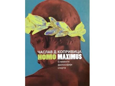 HOMO MAXIMUS: ELEMENTI FILOSOFIJE SPORTA - Časlav D. Koprivica