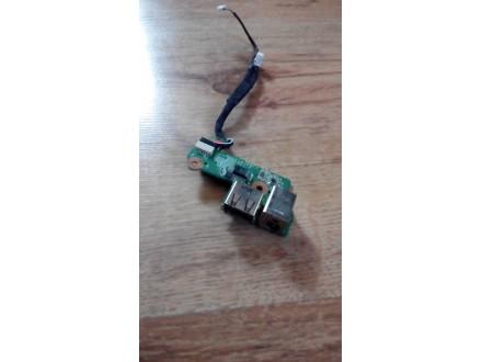 HP Compaq F500 DC konektor + usb
