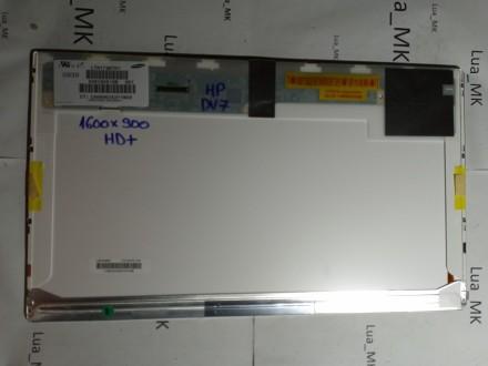 HP dv7 3010sg Ekran 17.3 LED 1600x900 HD+