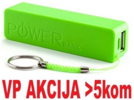 HRD-T19-GR * Gembird 2600mAh power bank Li-Ion 18650 (249)