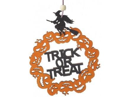 HW - Viseća dekoracija, Trick Or Treat - Halloween