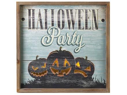HW - Zidna dekoracija, Halloween Sign - Halloween