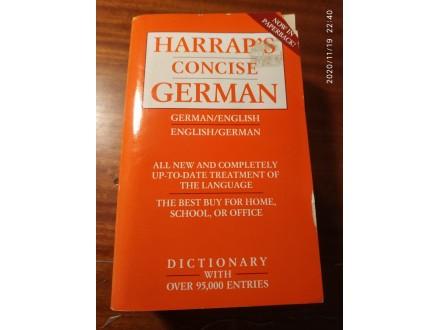Harraps concise German Rečnik