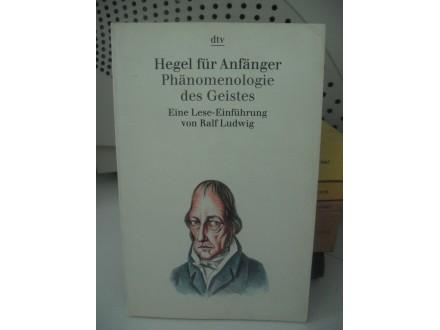 Hegel für Anfänger