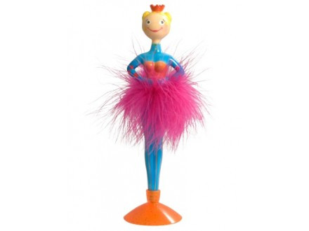 Hemijska - Ballerina, Blue - Sur mon bureau