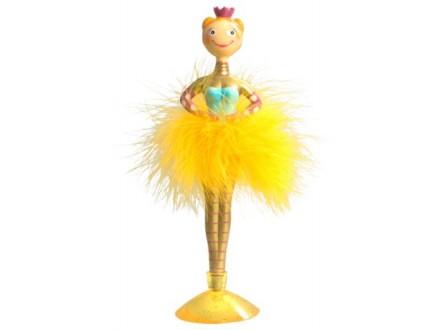Hemijska - Ballerina, Gold - Sur mon bureau
