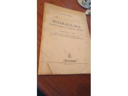 Hidraulika I deo Giulio De Marchi