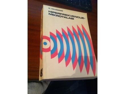 Hiperfrekvencije mikrotalasi Milanović