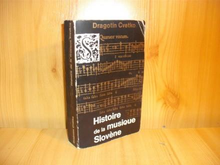 Histoire de la musique Slovene - D Cvetko