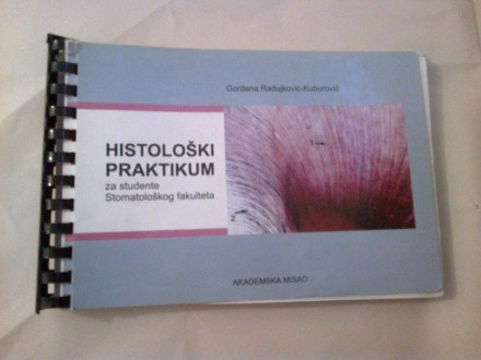 Histološki praktikum - Radujković-Kuburović