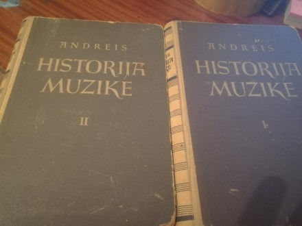 Historija muzike Andreis