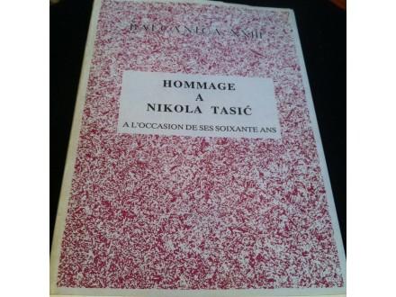 Hommage a Nikola Tasić Balcanica XXIII