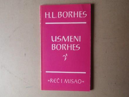 Horhe Luis Borhes - USMENI BORHES