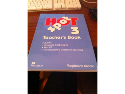Hot Spot 3 - Teacher`s Book