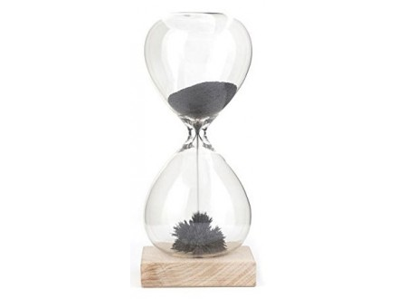 Hourglass Magnetic Sand - Kikkerland
