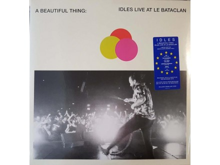 IDLES - A BEAUTIFUL THING LIVE AT LE BATACLAN - LP