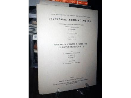 INVENTARIA ARCHAEOLOGICA (Fascicule 15)