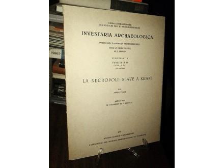 INVENTARIA ARCHAEOLOGICA (Fascicule 21)