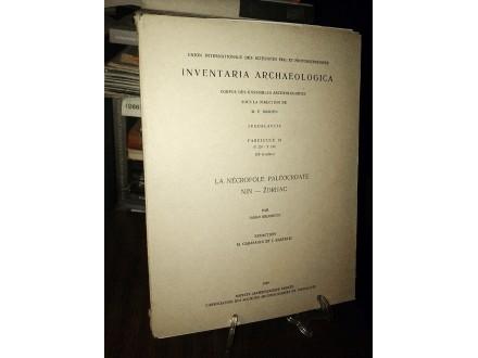 INVENTARIA ARCHAEOLOGICA (Fascicule 24)