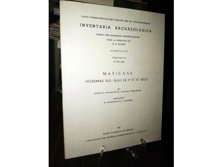 INVENTARIA ARCHAEOLOGICA (Fascicule 25)
