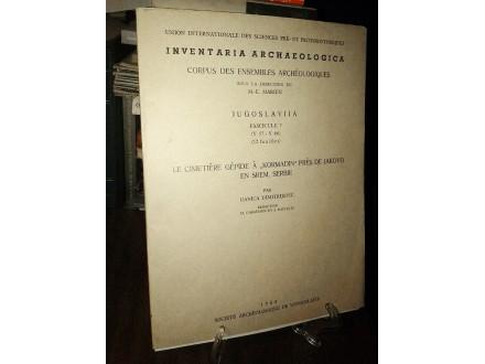 INVENTARIA ARCHAEOLOGICA (Fascicule 7)