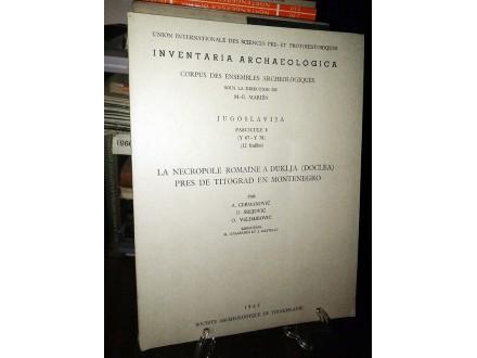INVENTARIA ARCHAEOLOGICA (Fascicule 8)
