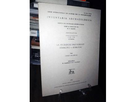INVENTARIA ARCHAEOLOGICA (Fascicule II 20)