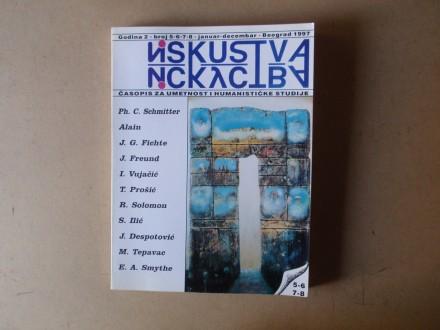 ISKUSTVA 5-6-7-8 / 1997 Časopis za umetnost i studije