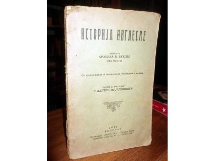 ISTORIJA INGLESKE - Arabela B. Buklej (1927)