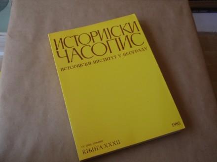 ISTORIJSKI ČASOPIS - Knjiga XXXII  (1985)