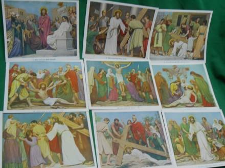 ISUSOVO RASPEĆE -lThe Stations of the Cross Jesus 20x18