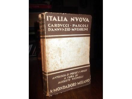 ITALIA NUOVA: Mussolini, D`Anunzio, Pascoli (1941)