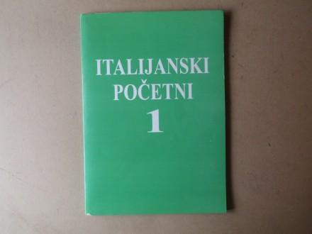 ITALIJANSKI POČETNI 1