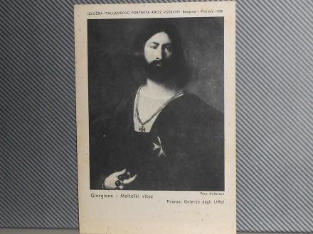 ITALIJANSKI  PORTRETI-IZLOŽBA U EOGRADU 1938 (III-110 B