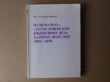 IZ NEMAČKO-JUGOSLOVENSKIH KNJIŽEVNIH VEZA 1801 - 1849
