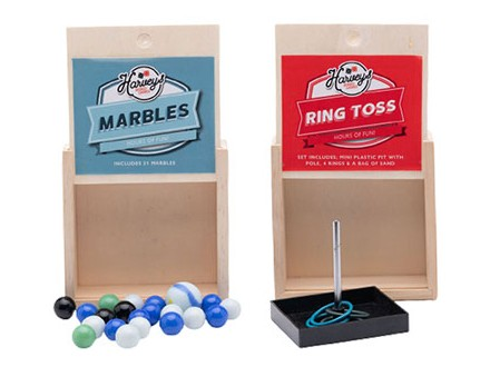 Igra - Marbles &; Ring Toss, set/2 - Harvey Makin