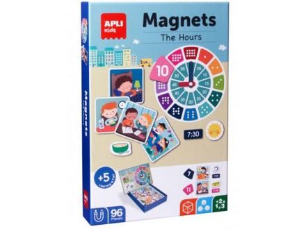 Igra sa magnetima - Gledanje na sat