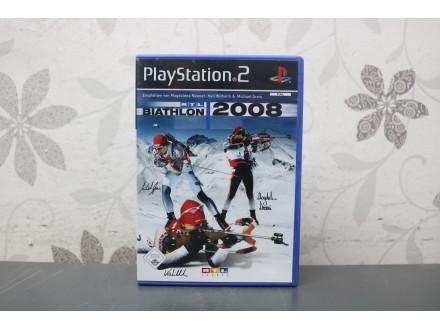 Igra za PS2  -  Biathlon 2008