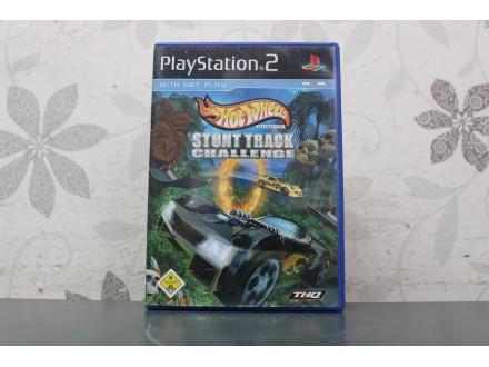 Igra za PS2  - HotWheels Stunt Track Chellenge