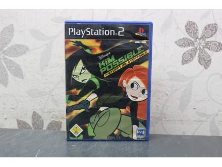 Igra za PS2  - Kim Possible Stoppt Dr Stoppable