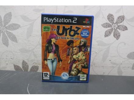 Igra za PS2 - Les Urbz Les sims in the city