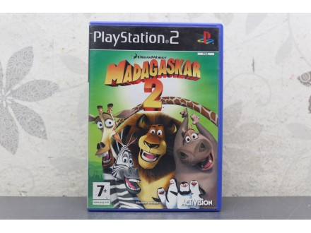 Igra za PS2 - Madagaskar 2