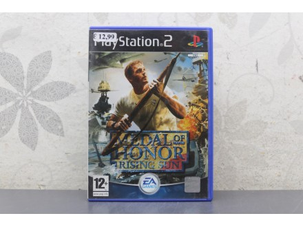 Igra za PS2 - Medal of Honor Rising Sun