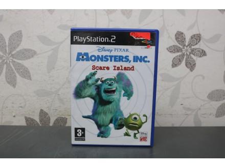 Igra za PS2 - Monsters Scare Island