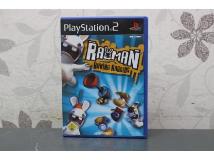 Igra za PS2  - Rayman Raving Rabbids