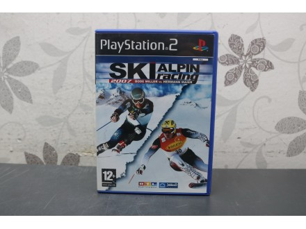 Igra za PS2 - Ski Alpine Racing 2007