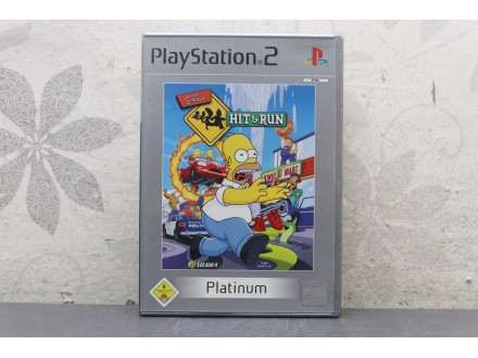 Igra za PS2 - The Simpsons Hit And Run