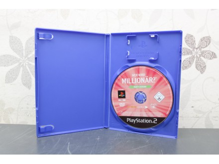 Igra za PS2 - Wer Wird Milionar bez omota