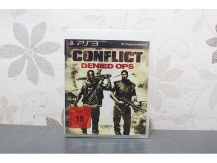 Igra za PS3 - Conflict